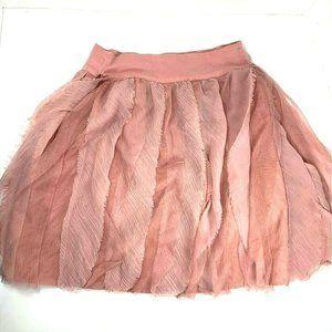Gap Kids Girls Tulle Skirt Pink Ruffle Layered L